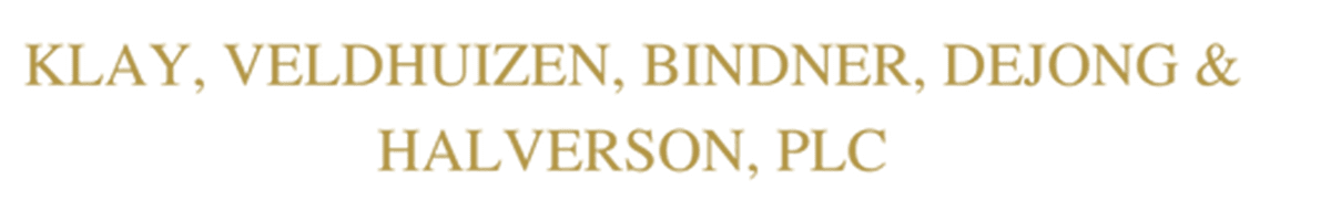 Klay, Veldhuizen, Bindner, DeJong, Halverson PLC